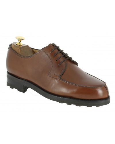 Derby shoe John Mendson 8172 brown leather