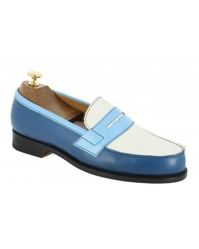 Moccasin Center 51 2906 Dan multicoloured leather blue alaska
