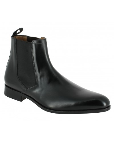 Boot Baxton 9715 black leather