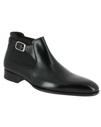 Boot Baxton 10410 black leather