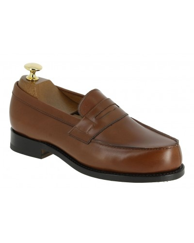 Moccasin Woman John Mendson 0622 brown leather