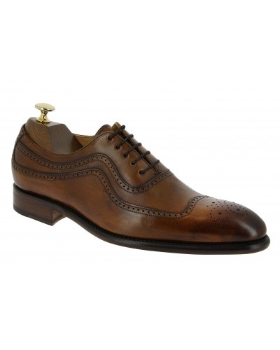 Oxford shoe Berwick 2711 brown leather