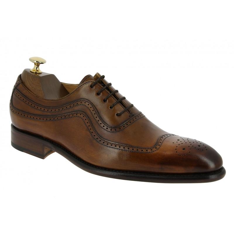 Oxford shoe Berwick 2711 brown leather