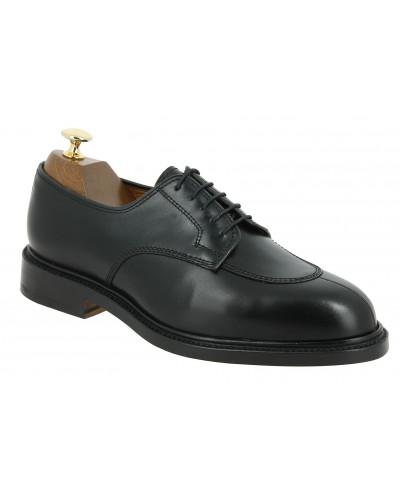 Derby shoe Center 51 4220 Bart black leather