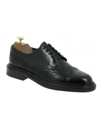 Derby shoe Baxton 3894 Ray black leather