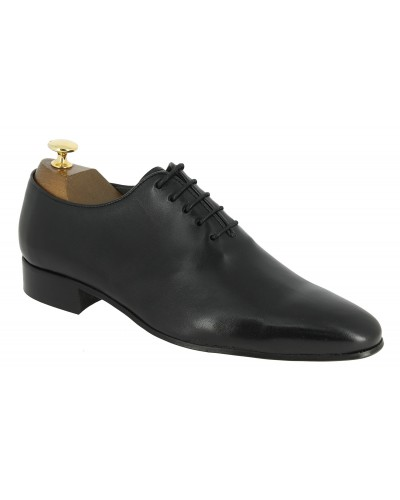 Oxford shoe New Italianissimo Onecut black leather