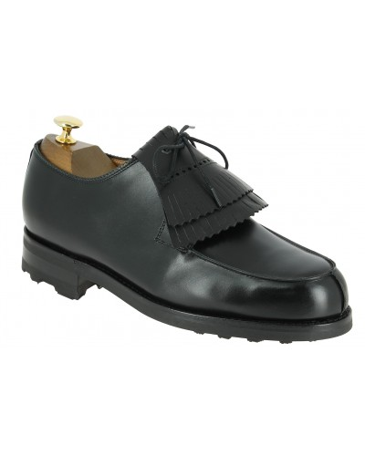 Derby shoe Center 51 8172 Bob black leather with tassels