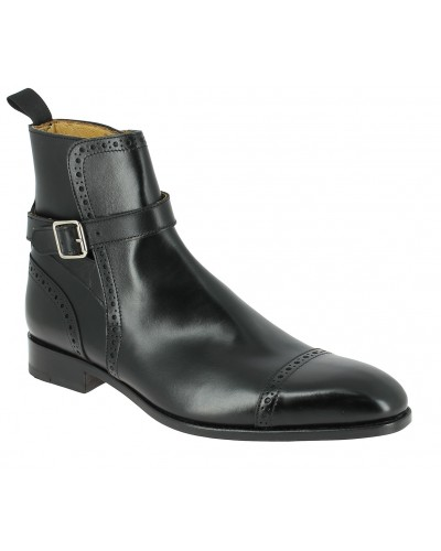 Boot Baxton 11267 black leather