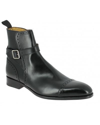Boot Baxton 11267 black leather