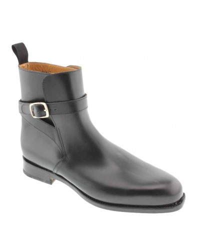 Boot John Mendson 6191 black leather