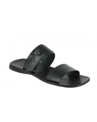 Sandale  Zeus 1712 cuir noir