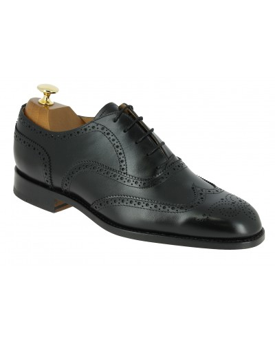 Oxford shoe John Mendson 4233 black leather