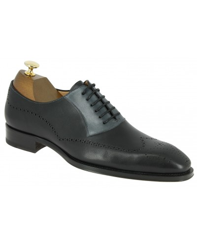 Oxford shoe Mezlan 6657 black leather