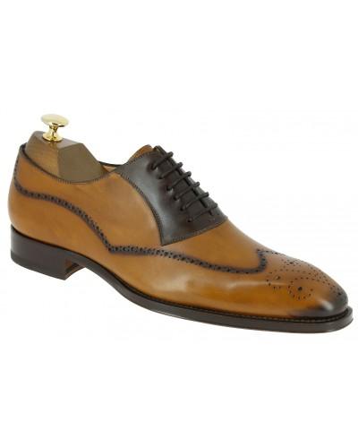 Oxford shoe Mezlan 6657 blond leather
