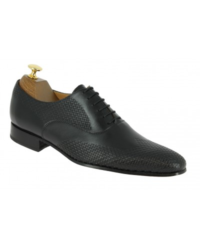 Oxford shoe Center 51 Classico 6158 black leather