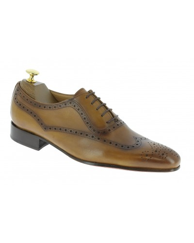 Oxford shoe Center 51 Classico 6387 blond leather
