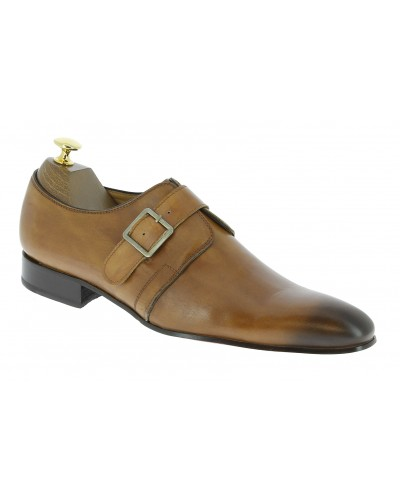 Chaussure à boucle Center 51 classico 6377 cuir blond