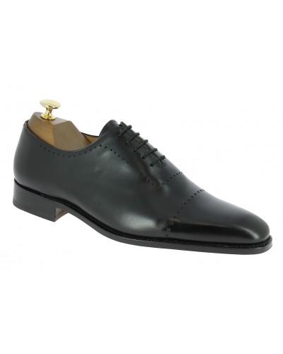 Oxford shoe Center 51 12083 Clint black leather