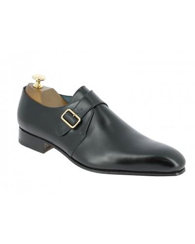 Monk strap shoe Center 51 12250 Tony black leather