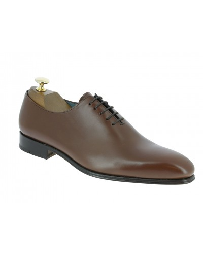 Oxford shoe Center 51  12251 Carlo brown leather