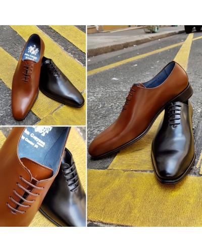 Oxford shoe Center 51  12251 Carlo black leather