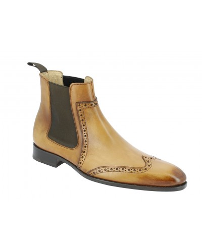 Boot Baxton 11269 blond leather