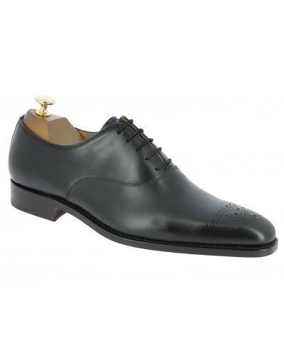 Oxford shoe Center 51 12168 Doug black leather