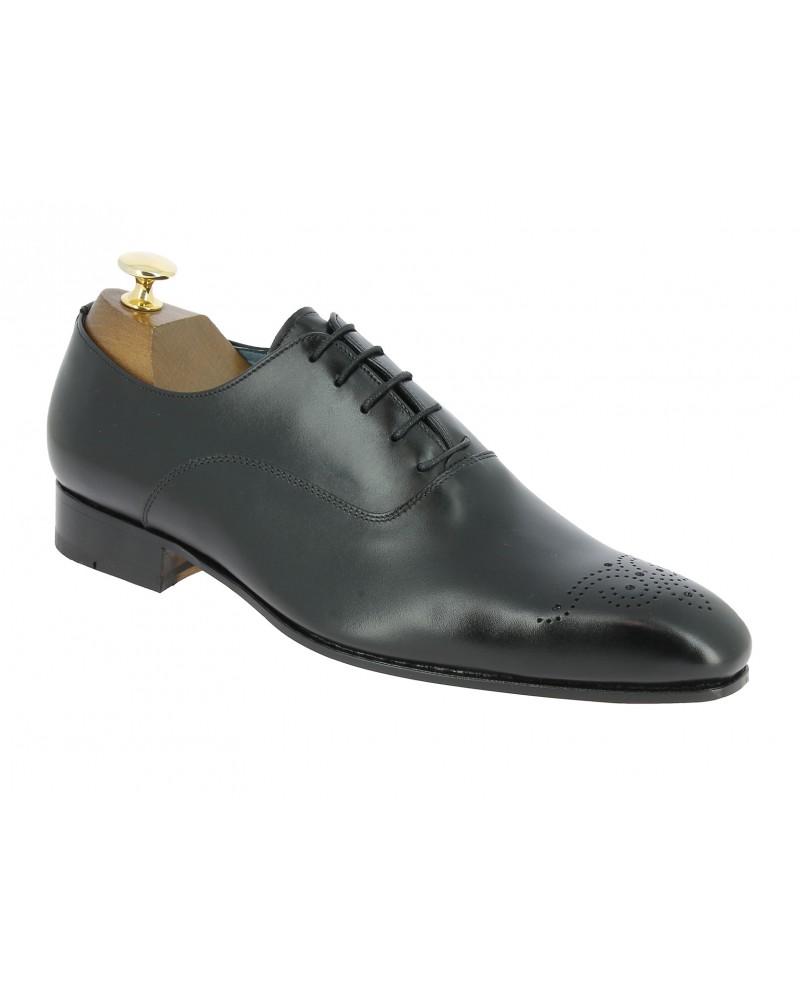 Oxford shoe Center 51  12423 Rico black leather