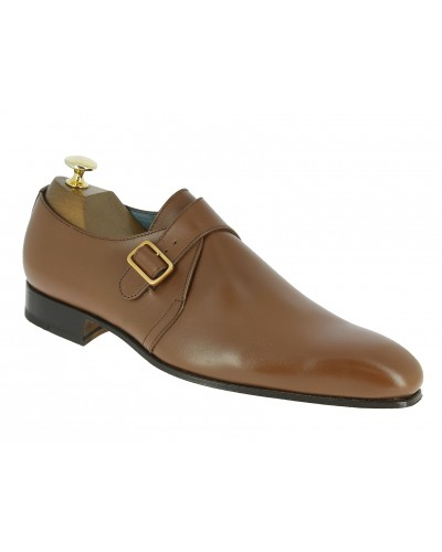 Monk strap shoe Center 51 12250 Tony brown leather