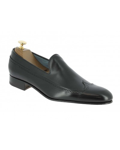 Moccasin Center 51 12596 Enzo black leather