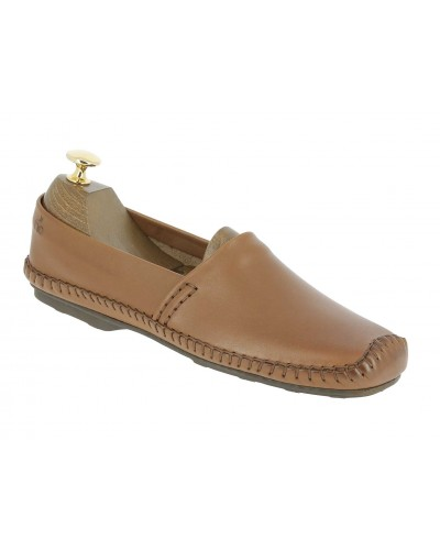 Moccasin Driver Dingo 0610 brown leather