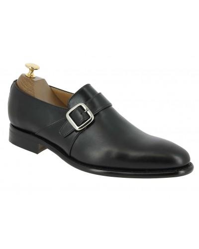 Monk strap shoe Berwick 3520 black leather