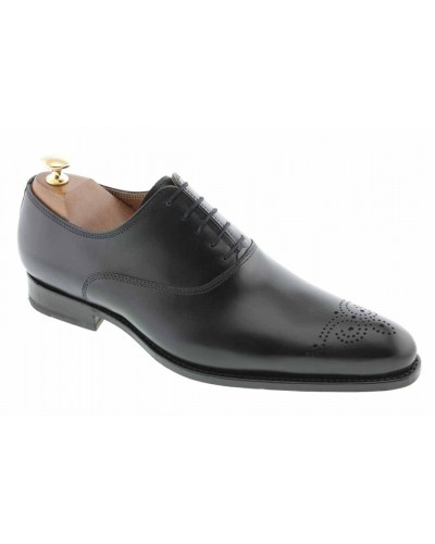Oxford shoe John Mendson 7899 black leather