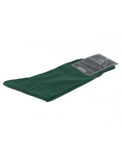Fine egytian mercerized cotton socks green