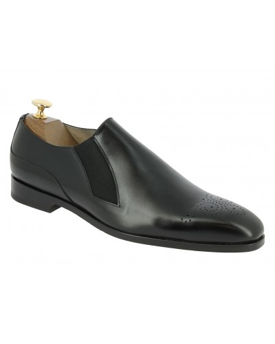 Moccasin Center 51 12621 Jeanot black leather