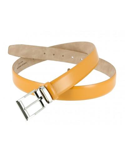 Blond leather Belt