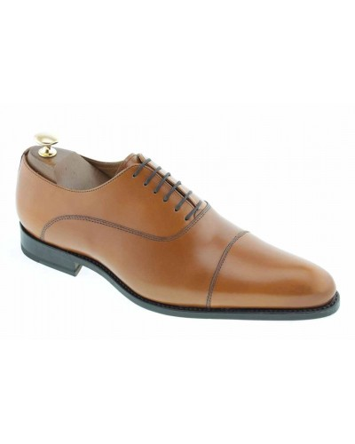 Richelieu John Mendson 7900 cuir blond