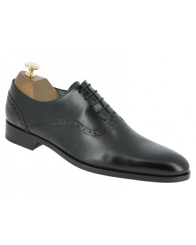 Oxford shoe Center 51  10429 Torino black leather