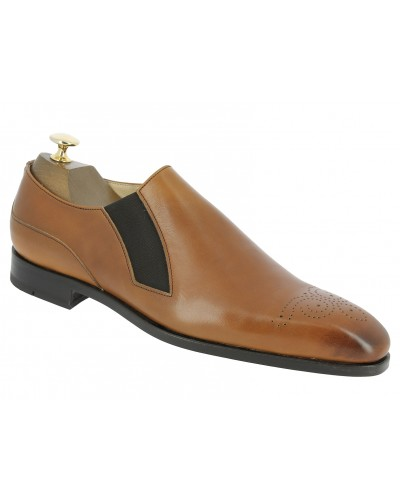 Moccasin Center 51 12621 Jeanot blond leather