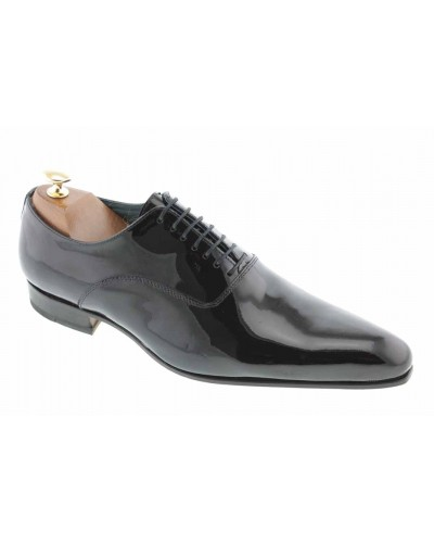 Oxford shoe John Grayson 7052 black varnished leather