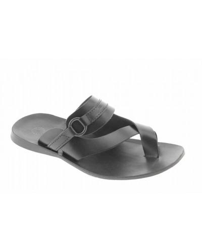 Sandals Zeus 1172 black leather