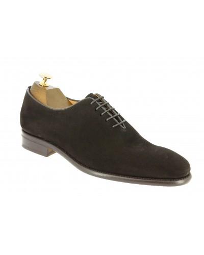 Oxford shoe Berwick 2585 dark brown suede