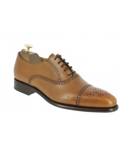 Oxford shoe Berwick 2784 blond leather
