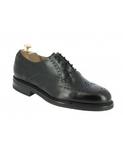 Oxford shoe Berwick 3818 black leather