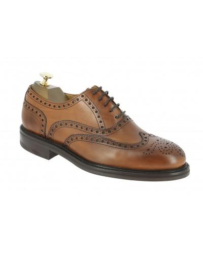 Oxford shoe Berwick 3818 brown leather