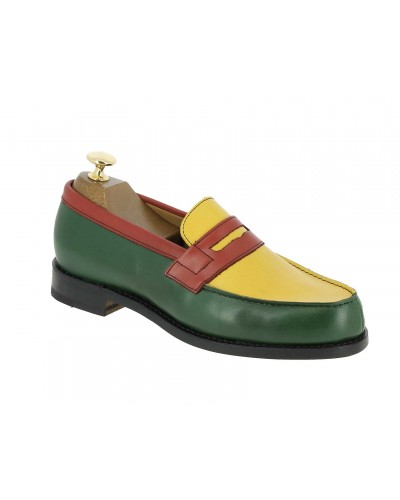 Moccasin Woman Center 51 0622 Wendy multicoloured leather africa