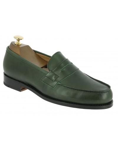 Moccasin Center 51 2906 Dan green leather