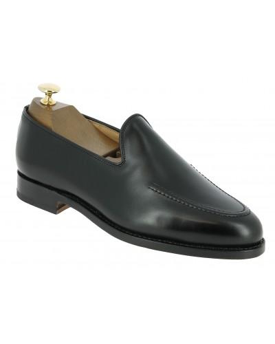 Moccasin Center 51 13369 black leather