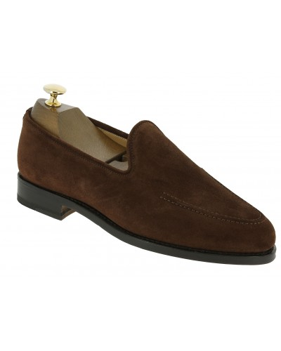 Moccasin Center 51 13369 brown suede