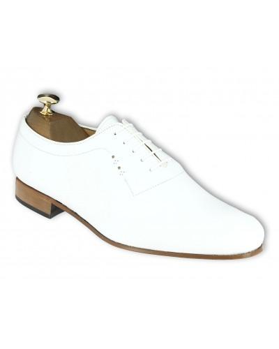 Oxford shoe Center 51 Classico 6379 white leather